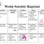 Jadwal Harian Naufal – Kayyisha