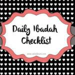 Mengajarkan Anak Shalat (+Ibadah Checklist Printable)