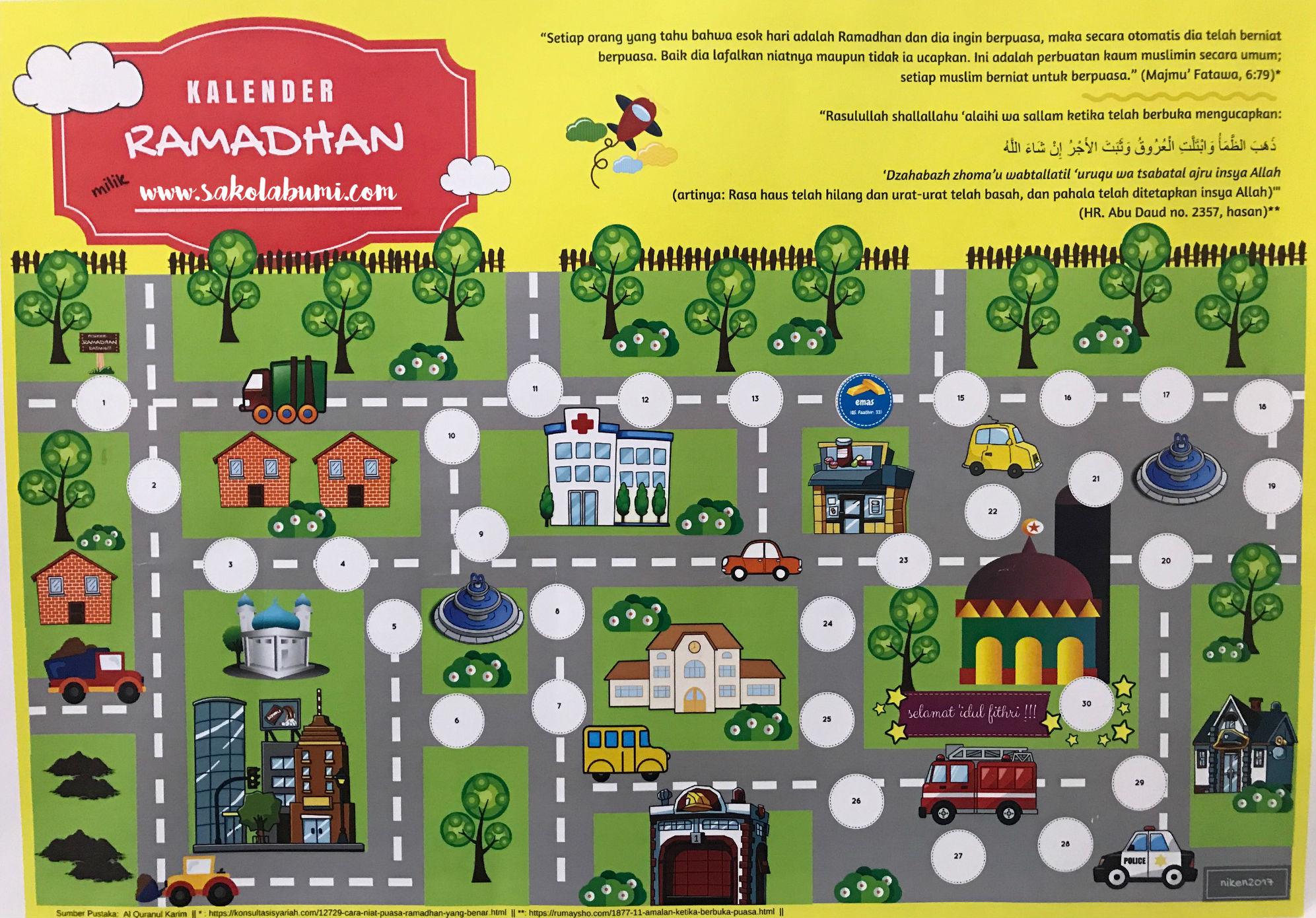 kalender ramadhan tematik