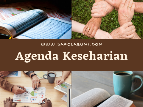 agenda keseharian hs